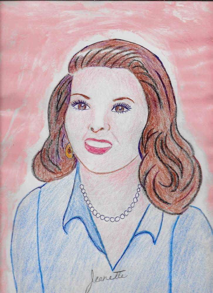 Katharine Hepburn por Jeanette